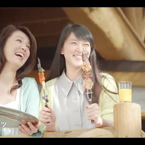 2篇 武井咲 CM JTB 夏旅2013 「パッケージツアー」「家族が主人公」